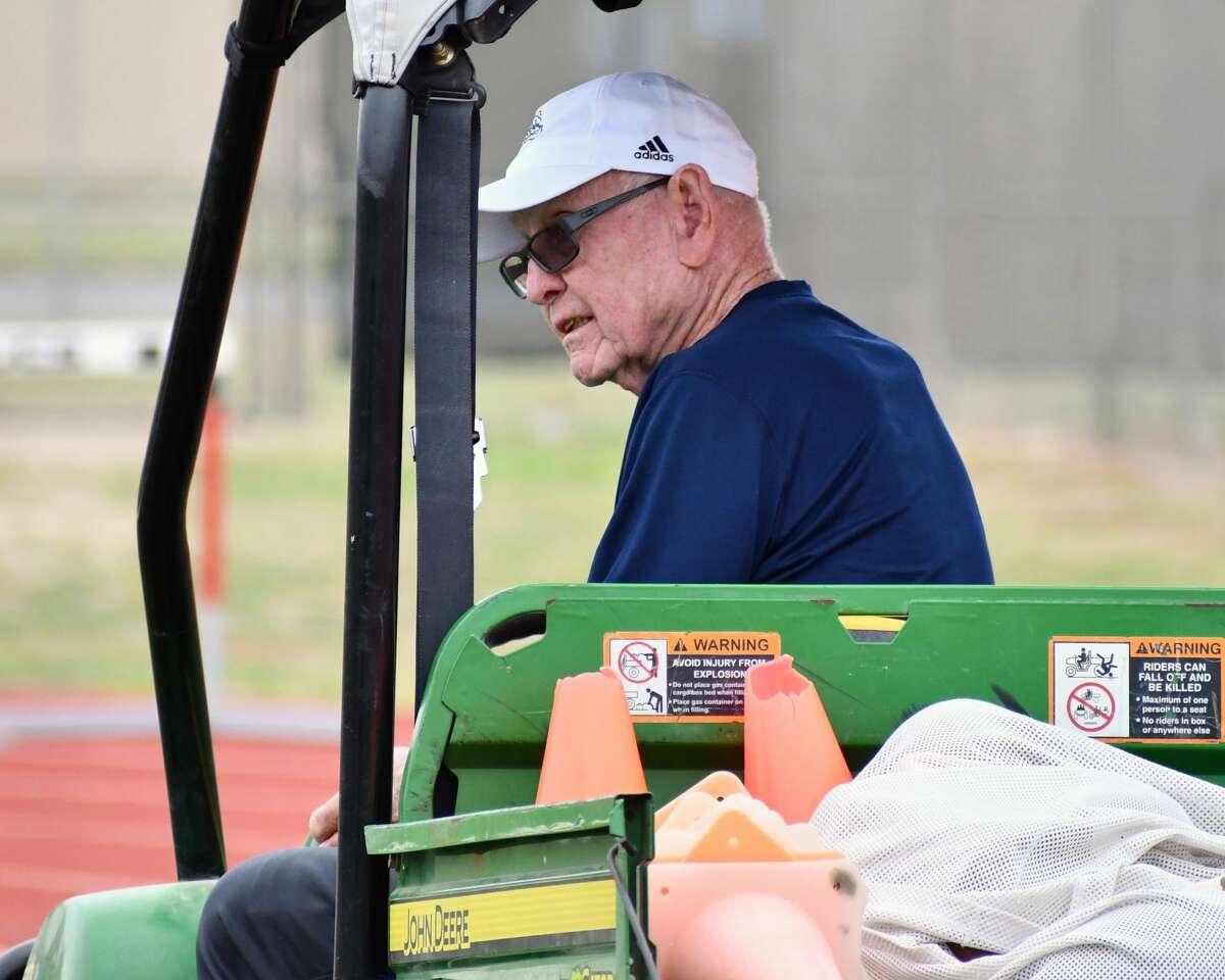 Plainview kicked off the spring football season on Monday at Greg Sherwood Memorial Bulldog Stadium.