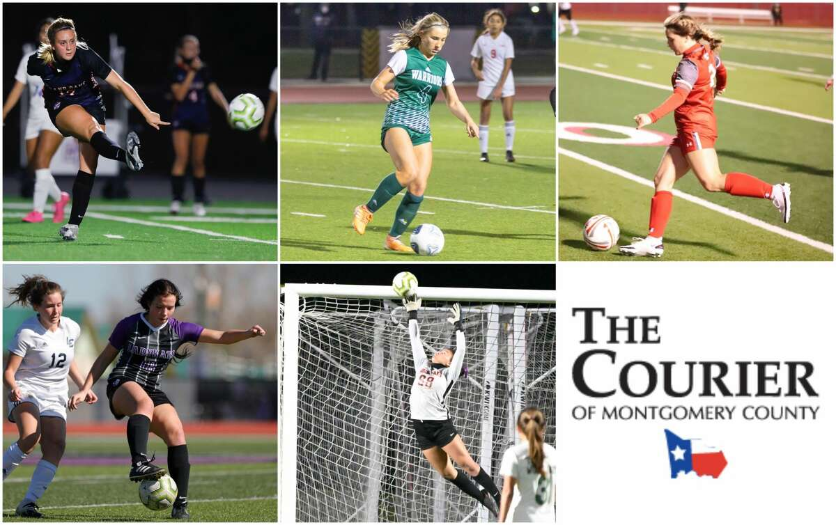 Jorja Bragg (Grand Oaks), Jocelyn Klages (TWCA), Makenzy Moore (Splendora), Lucy Smith (Willis) and Sophia Dean (Grand Oaks) are nominees for The Courier's Newcomer of the Year.