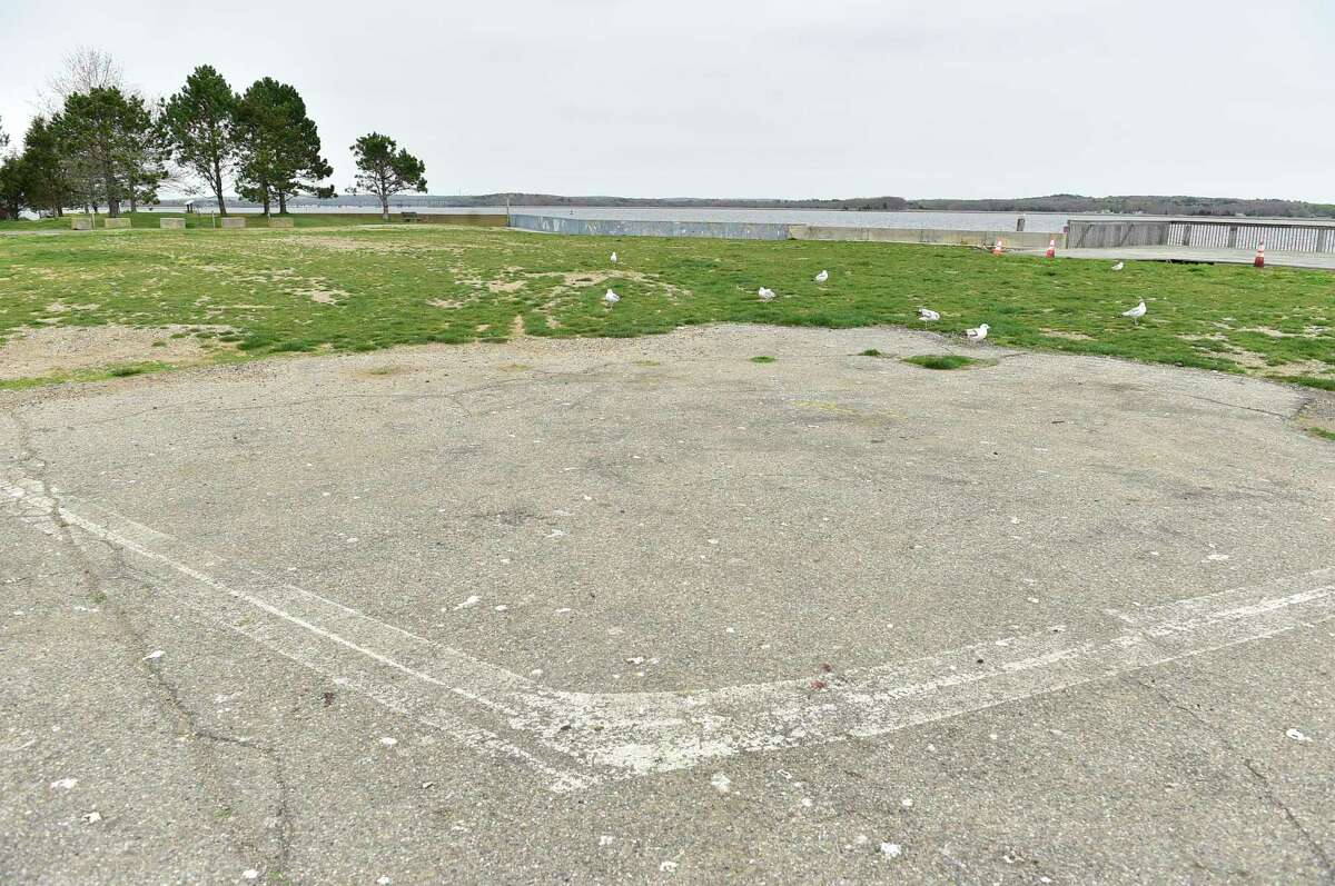 Location of the former Dock & Dine restaurant in Old Saybrook, where a new 300-seat outdoor eatery, Smoke on the Water, has been proposed. The Old Saybrook zoning commission denied the request Monday, but the owners say they plan to submit an amended application.