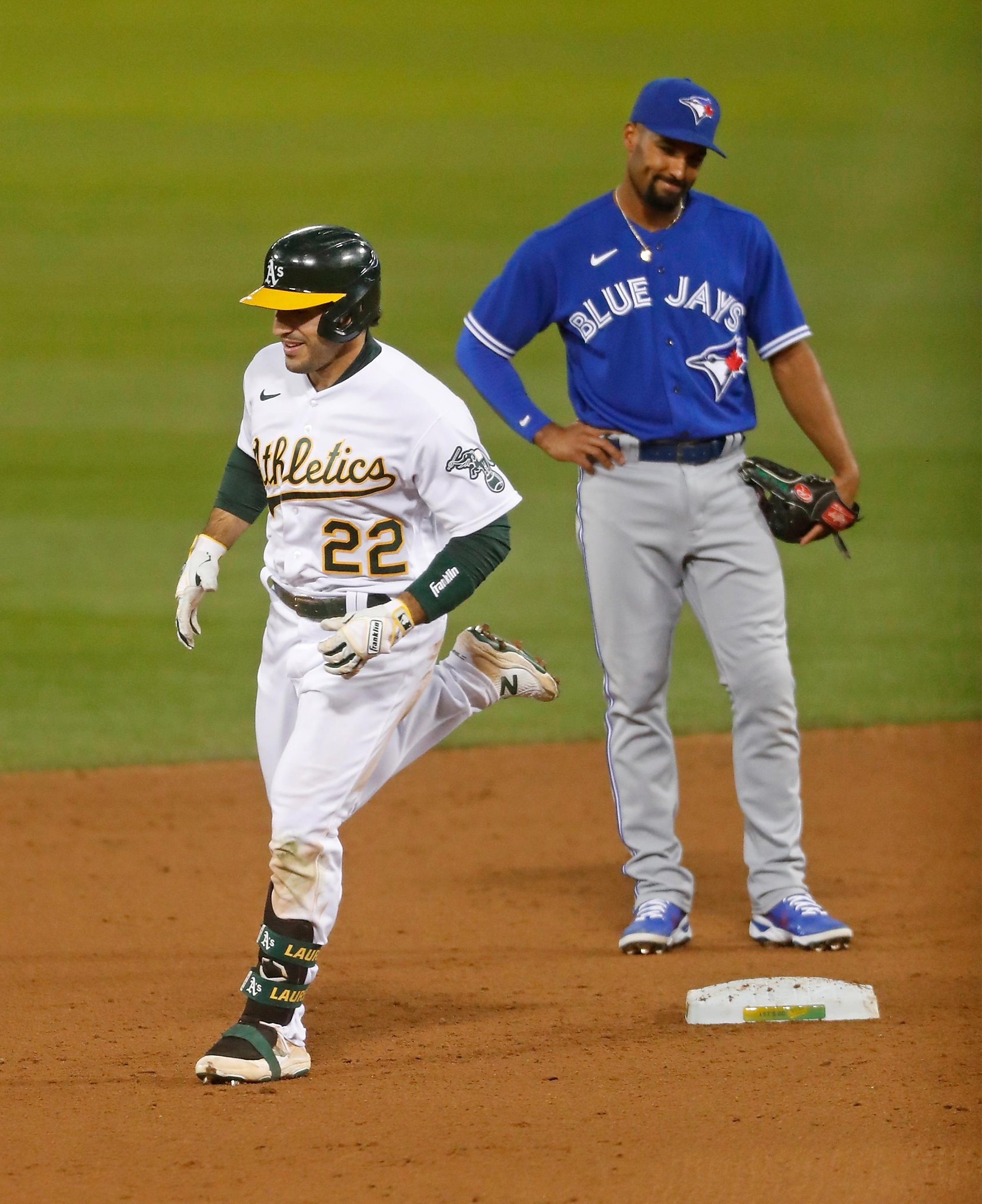 A's edge Blue Jays with another Ramón Laureano home run the difference