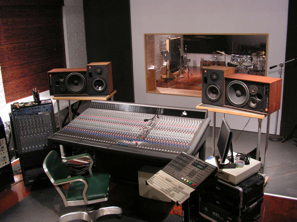 The console at Don Fury's his recording studio in Troy. (Don Fury)