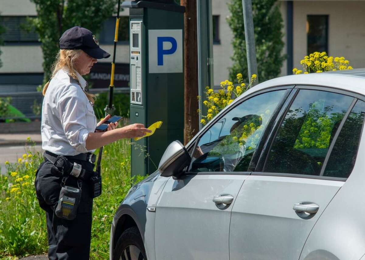 #100. Parking Enforcement Workers - Number employed: 7,560 - Annual mean wage: $44,870 (20.3% below mean for all occupations) - Median hourly wage: $20.23