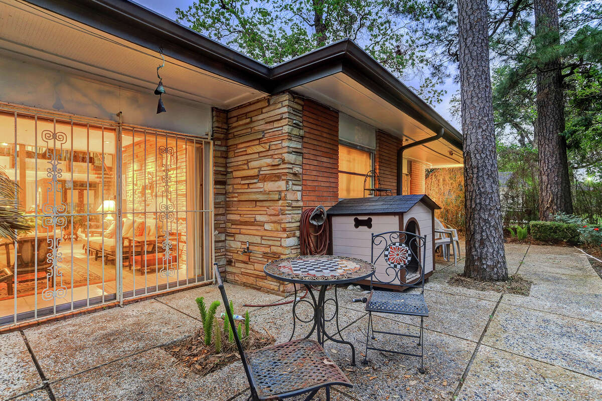 The home comes equipped with a specially designed charcoal grill.