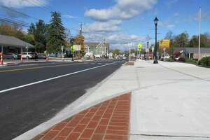 Brookfield wrapped up the $1.4 million second phase of its streetscape project on Friday, Oct. 18, 2019.