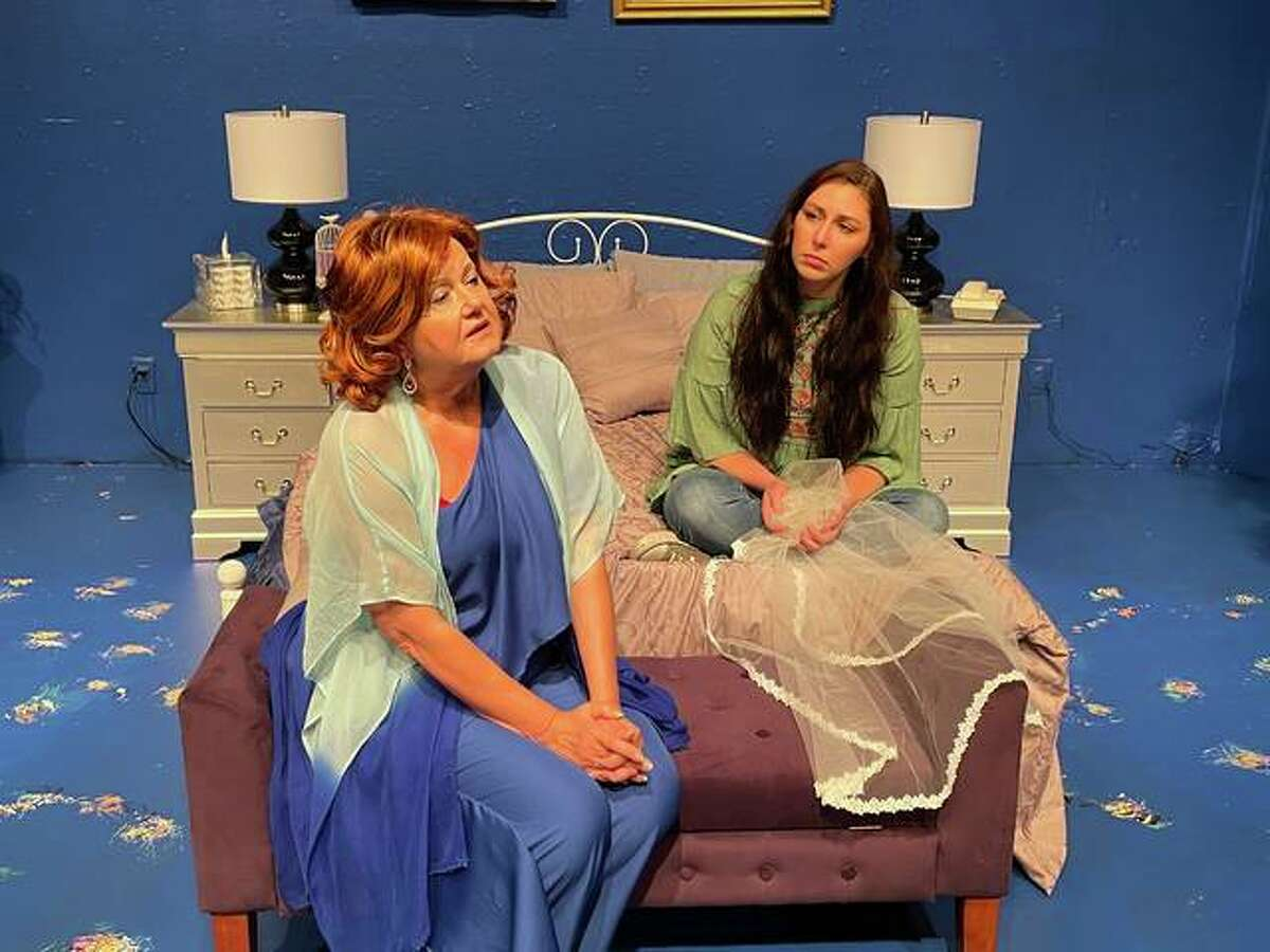 """Alton Little Theater's """"Terms of Endearment"""" includes touching performances by Jessica McCawley and Lee Cox as daughter and mother. The show runs May 14-23."""