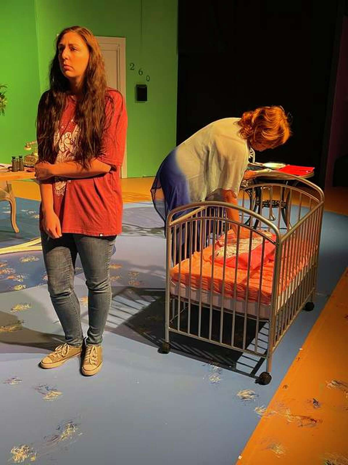 """Jessica McCawley and Lee Cox take on the iconic roles of Emma Greenway and her mother, Aurora, in the Alton Little Theater's production of """"Terms of Endearment"""" running May 14-23."""