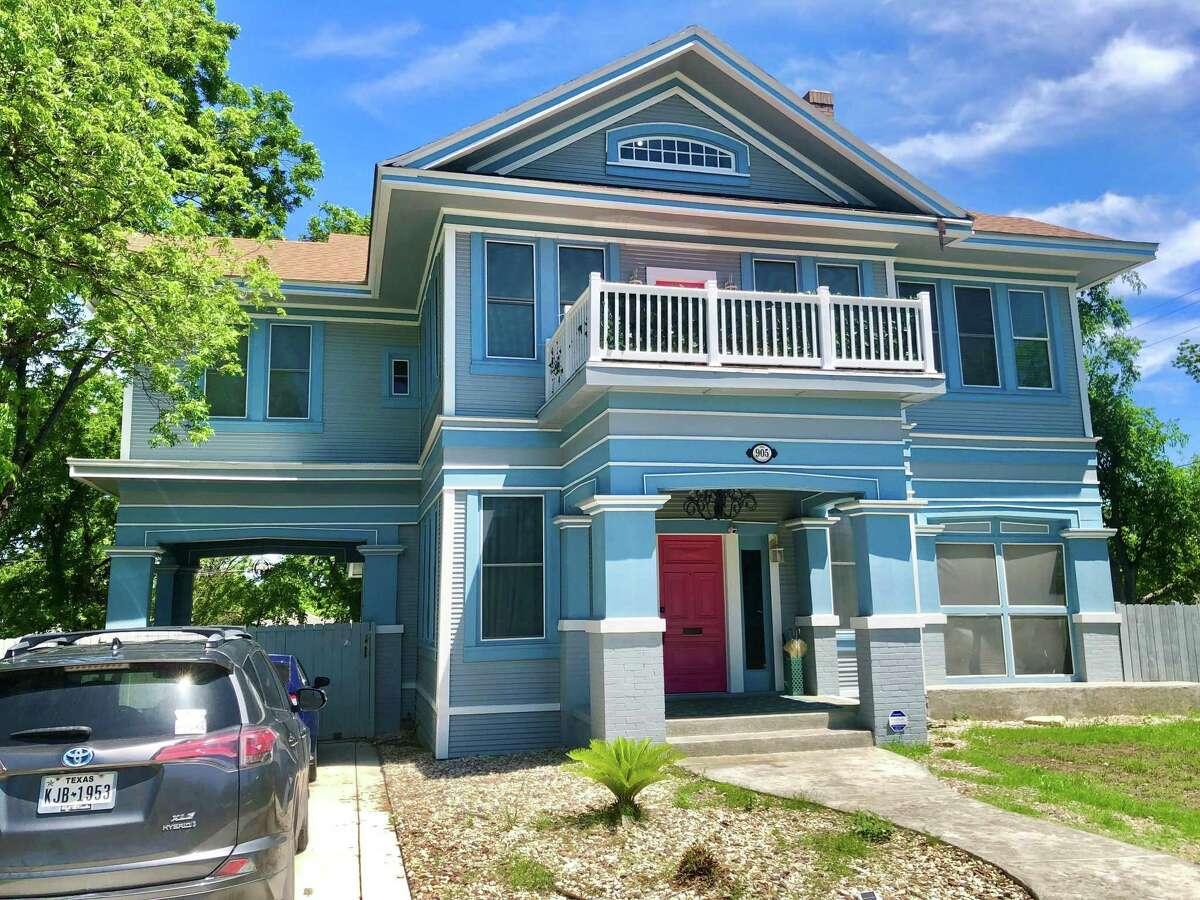 Pablo Gonzalez and Alyssa Cedillo's 1915 Beacon Hill home has four bedrooms and 3 ½ bathrooms.