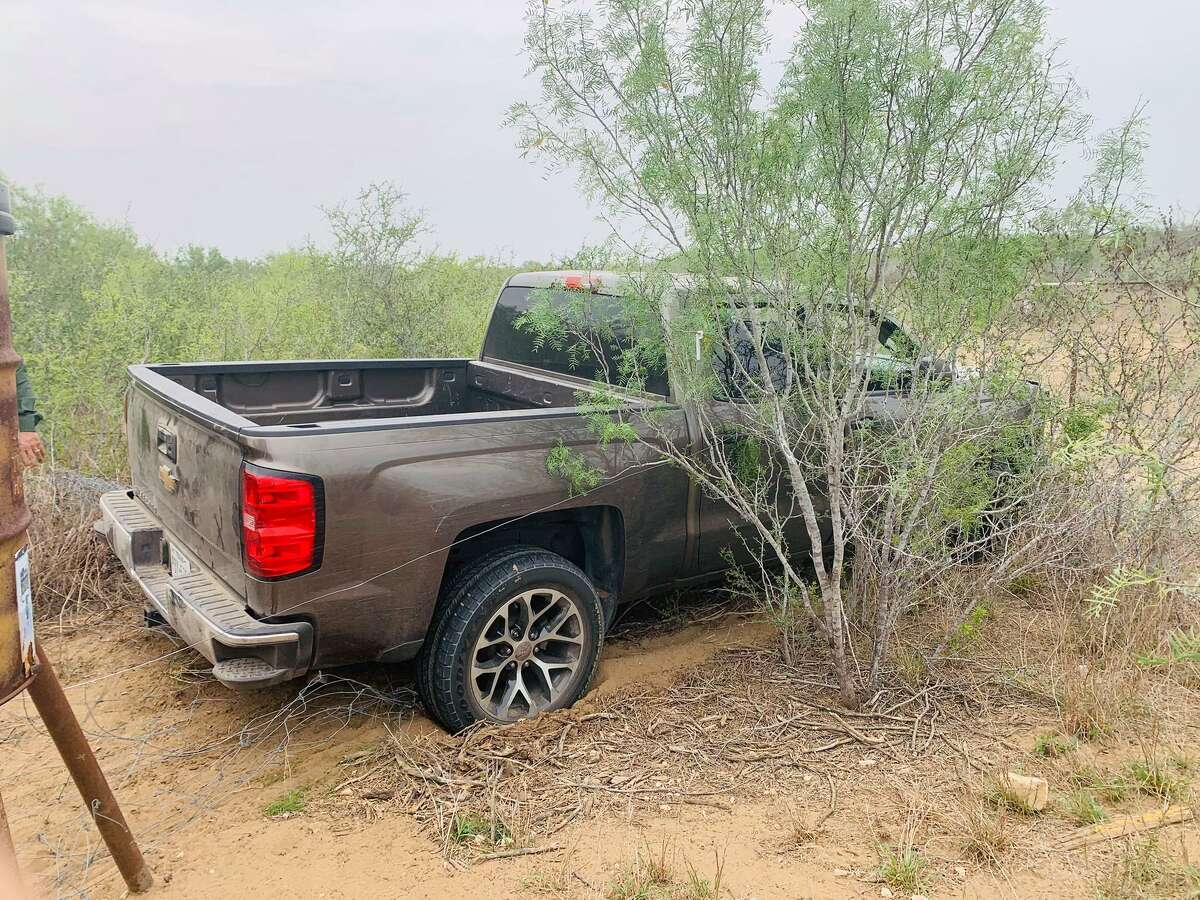 Texas Department of Public Safety troopers said this vehicle was loaded with migrants who had crossed the border illegally.