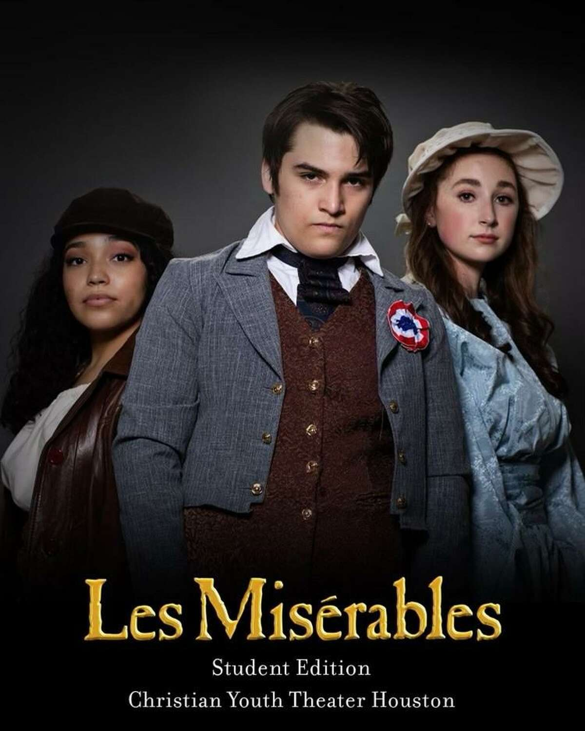 """Christian Youth Theater opens """"Les Miserables School Edition"""" May 14 at the Crighton Theatre. More tickets have been opened for this show. Visit cythouston.org for tickets."""