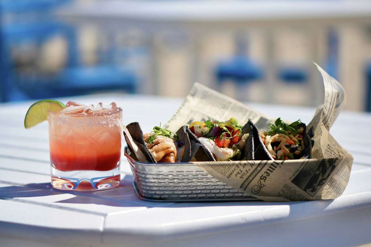 Cocktails and tacos at Kokomo's in Old Lyme