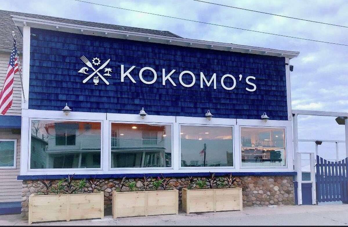 The beachfront Kokomo's Restaurant and Beach Club in Old Lyme