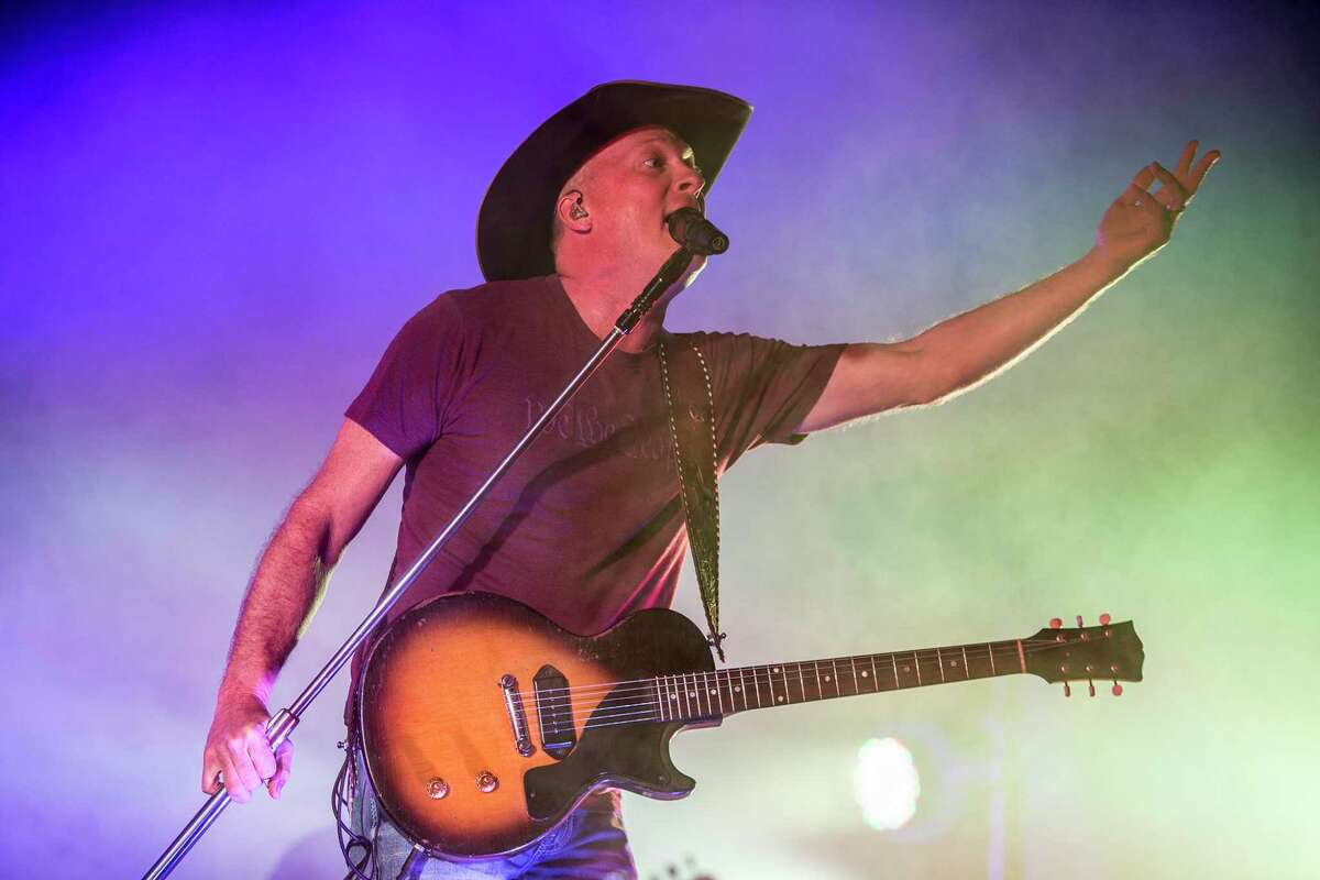 Country music artist Kevin Fowler will be one of the headliners during the Buckle Down South Festival May 15. In this photo, Fowler performs during the Humble Rodeo on Feb. 7, 2015, at the Humble Civic Center.