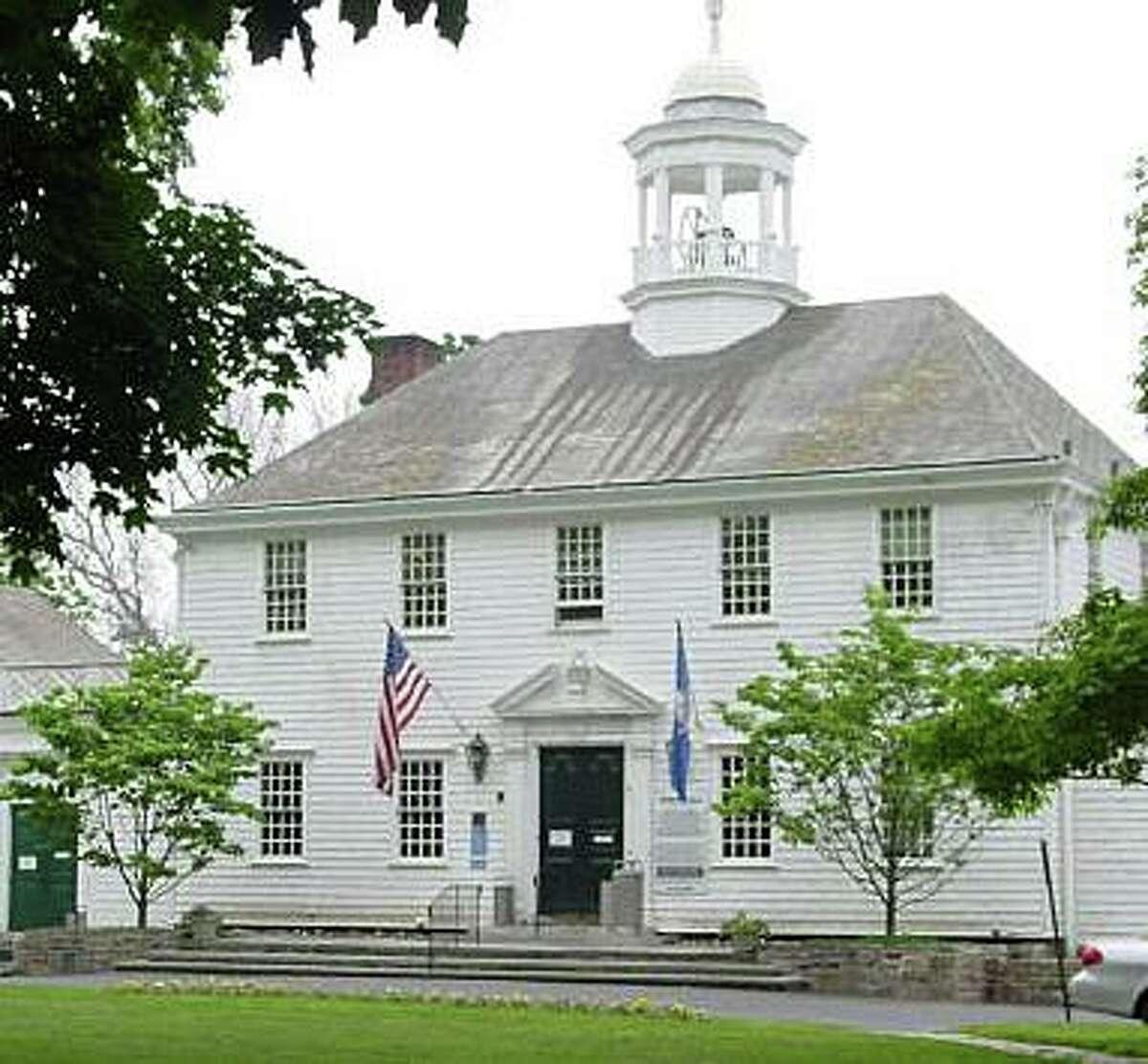 Old Town Hall in Fairfield, Conn.