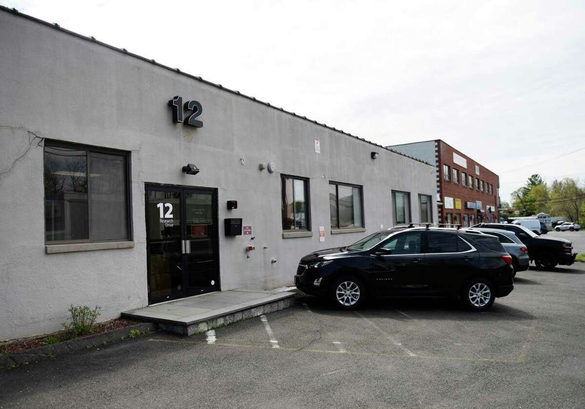 The proposed site of a medical marijuana dispensary at 12 Research Dr. in Stamford, Conn., photgoraphed on Tuesday, April 27, 2021.