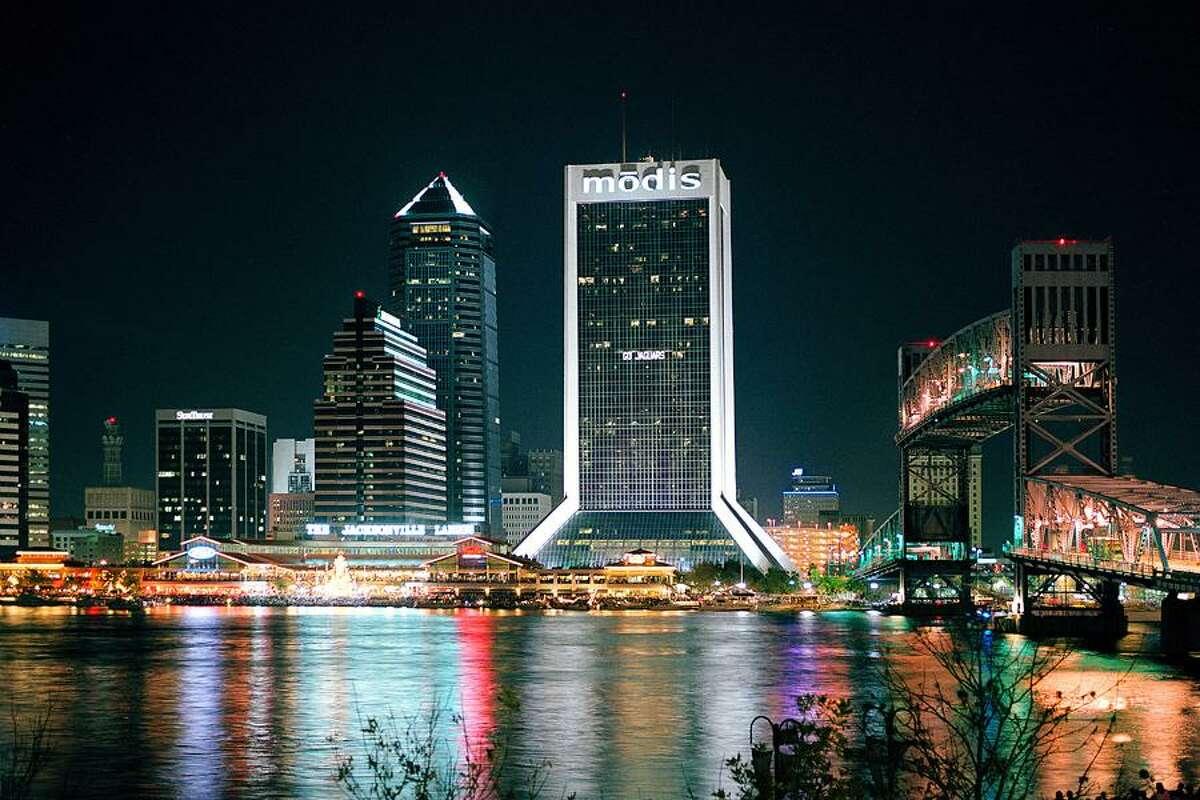 Downtown Jacksonville, Florida.