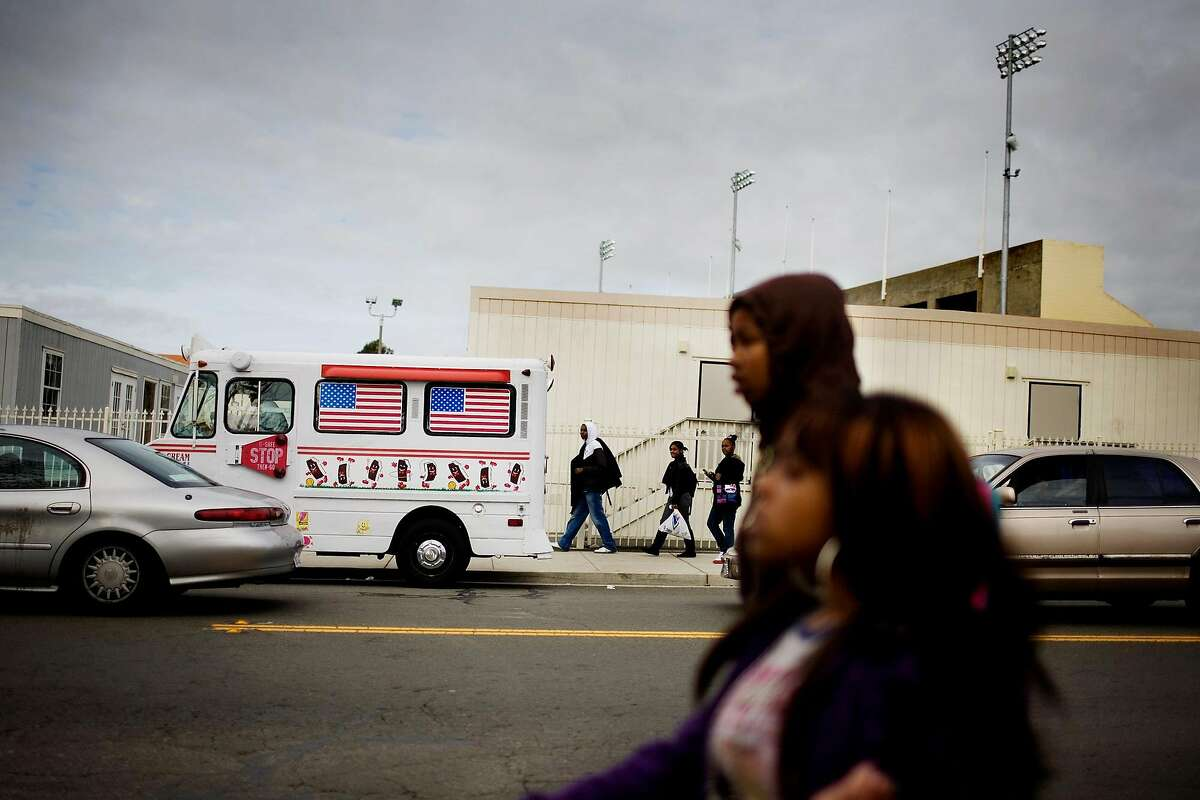 A file photo Nebraska Street and Vallejo High School. Vallejo High School students were ordered to stay home this week after two students tested positive for COVID-19, a district spokesman said.
