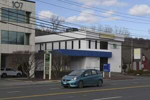 105 MillPlain Road, Danbury, Conn., where a Bethel-based marijuana dispensary is seeking permission to use the drive-thru as part of its expansion to the former bank building.