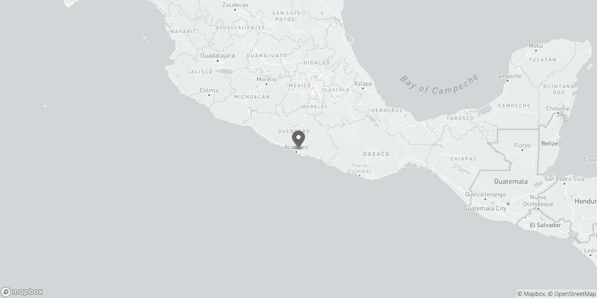 The epicenter of Friday's quake near Watsonville.