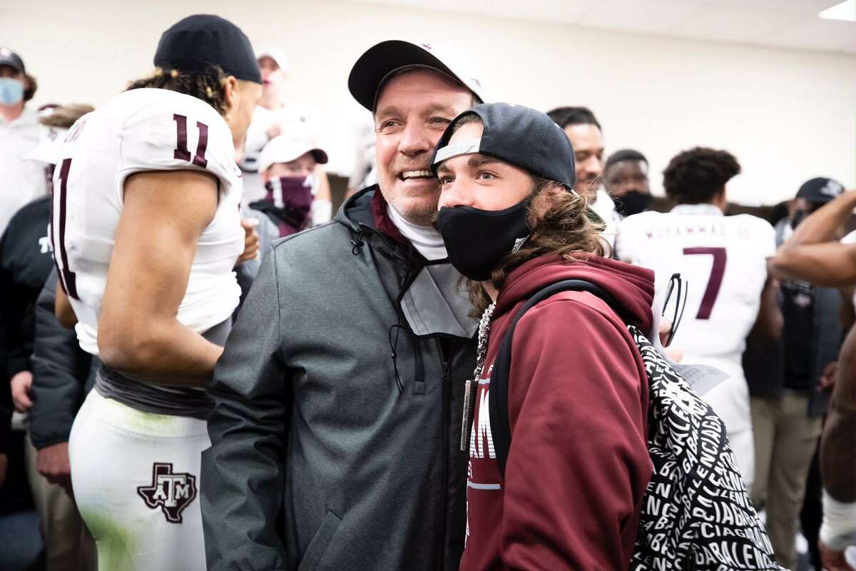 Jimbo Fisher's son Ethan was diagnosed at age 5 with a blood disease that once was usually fatal, but he's now 16 and thriving.