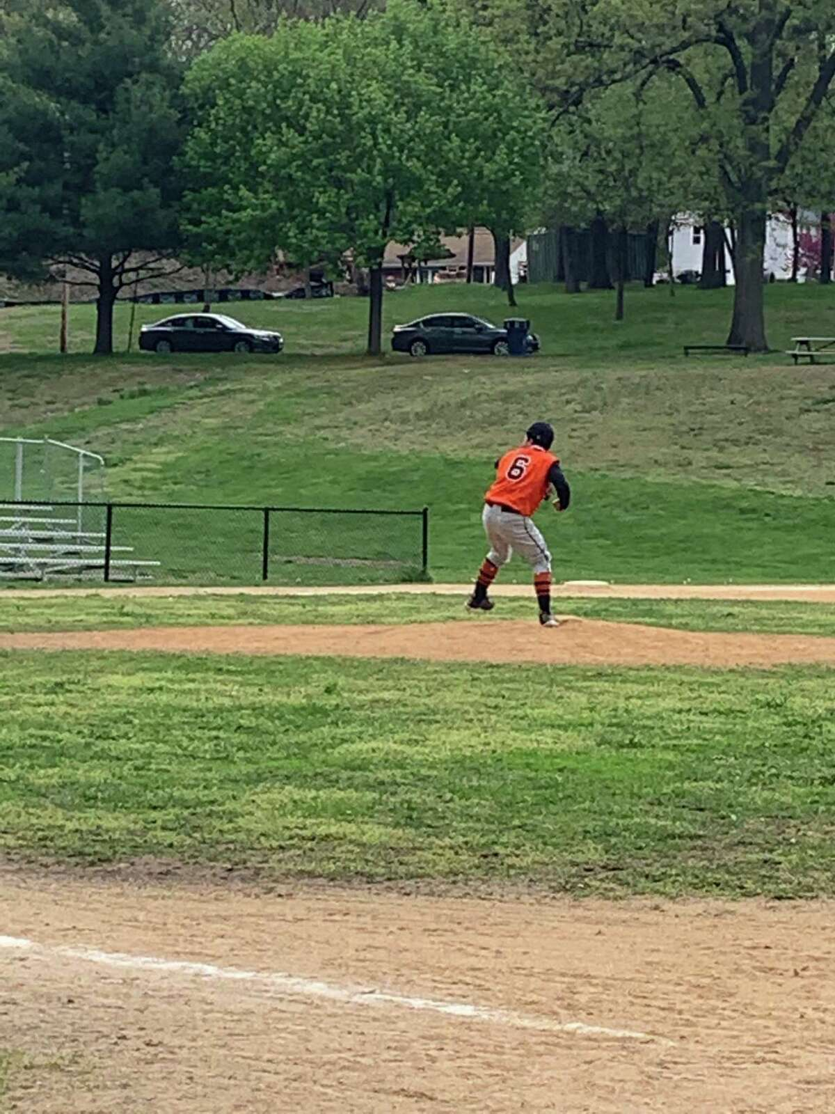 Freshman Raymond Morales pitched a perfect game for Bullard-Havens on Monday, May 3, 2021, at Beardsley Park in Bridgeport, Conn. The Tigers defeated Vinal Tech 19-0 in five innings.