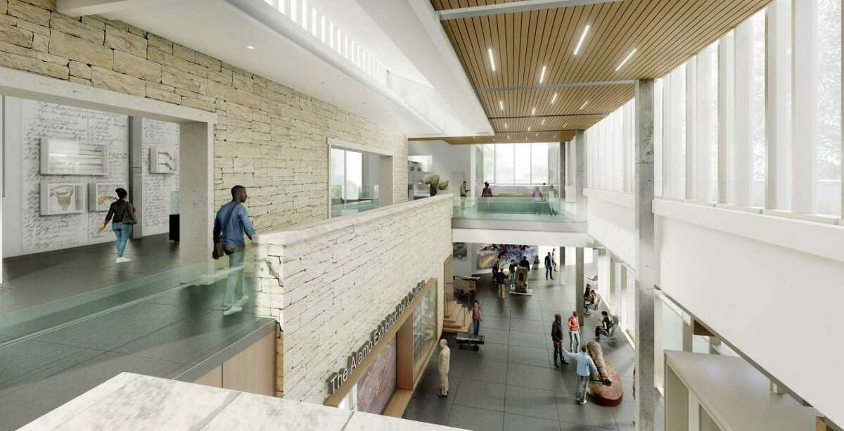 The nonprofit Alamo Trust plans to break ground later this summer on a 24,000-square-foot Alamo Exhibit Hall & Collections Building, set for completion in the summer 2022, on the state-owned Alamo grounds. It will include 10,000 square feet of exhibit space. The trust still plans to develop a larger Alamo Visitor Center and Museum, targeting a launch for that facility in 2025.