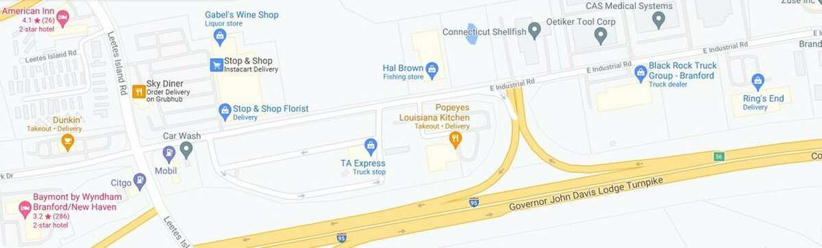 There is a proposal for a $2.25 million project to fully reconstruct East Industrial Road in Branford - from Leetes Island Road - to the southbound Interstate 95 ramp at Exit 56,