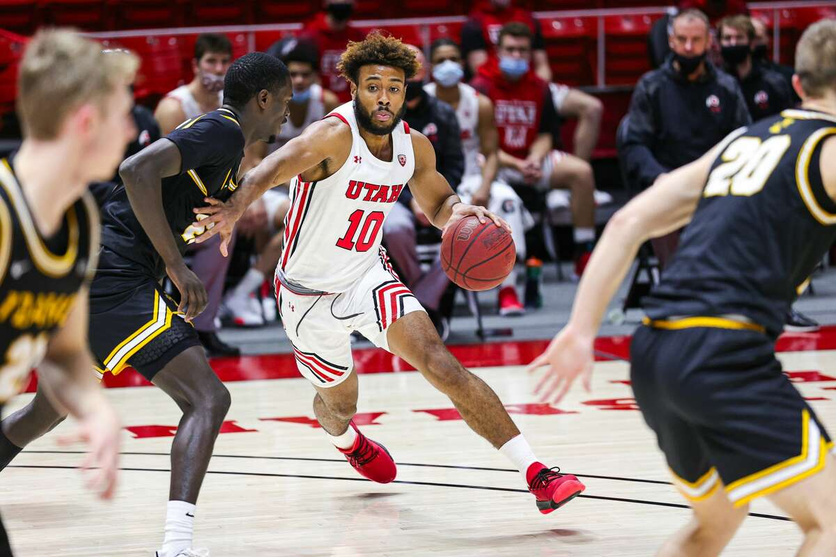 Jordan Kellier, who committed to Siena men's basketball on May 4, 2021, played at Redemption Christian Academy in Troy before spending one season at Utah. (University of Utah athletic communications)