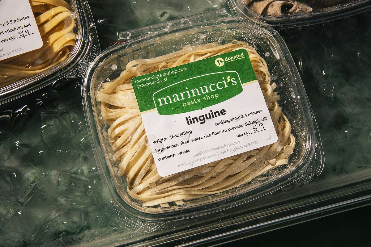 Christina Marinucci's eponymous pandemic pop-up, Marinucci's Pasta Shop, now has a stand selling fresh pasta at the Sunday farmers' market.