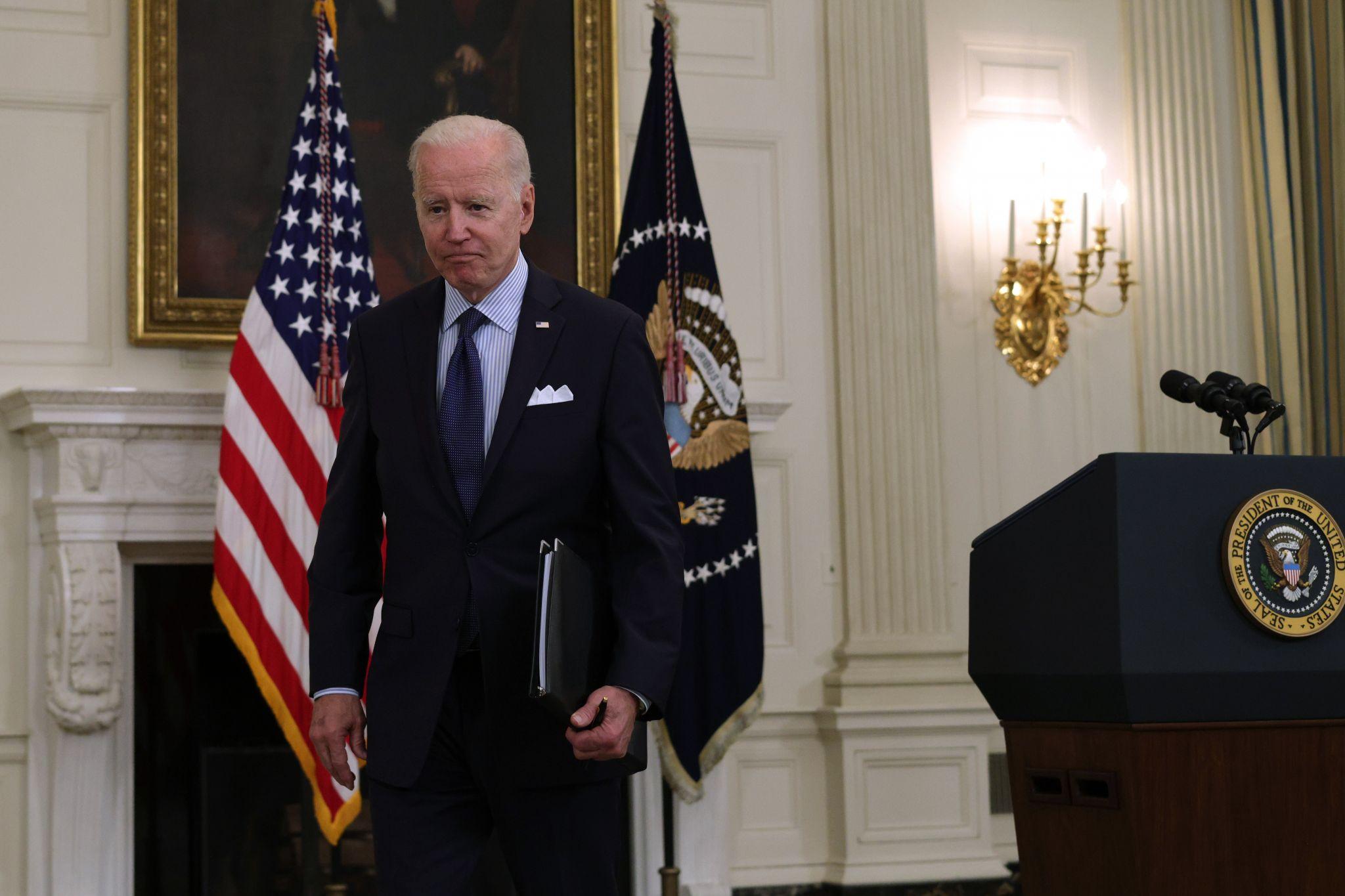 Joe Biden isn't actually this huge, right?