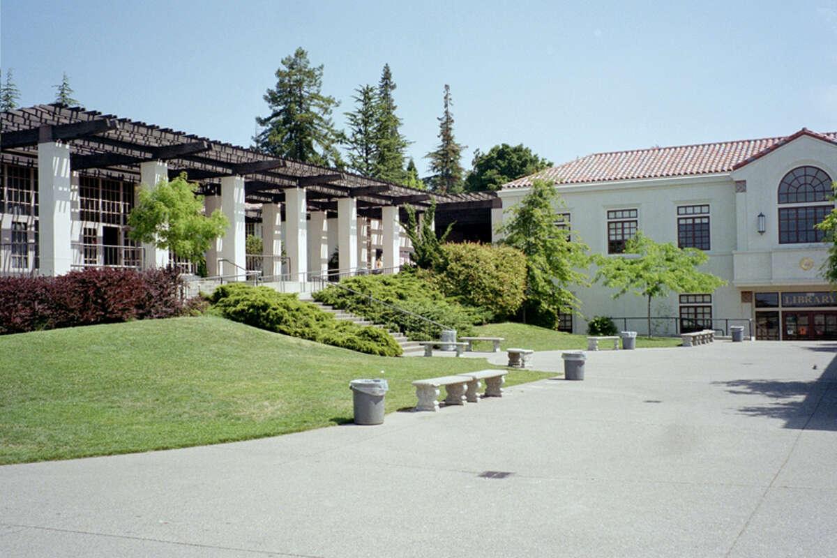 The quad at Piedmont High.