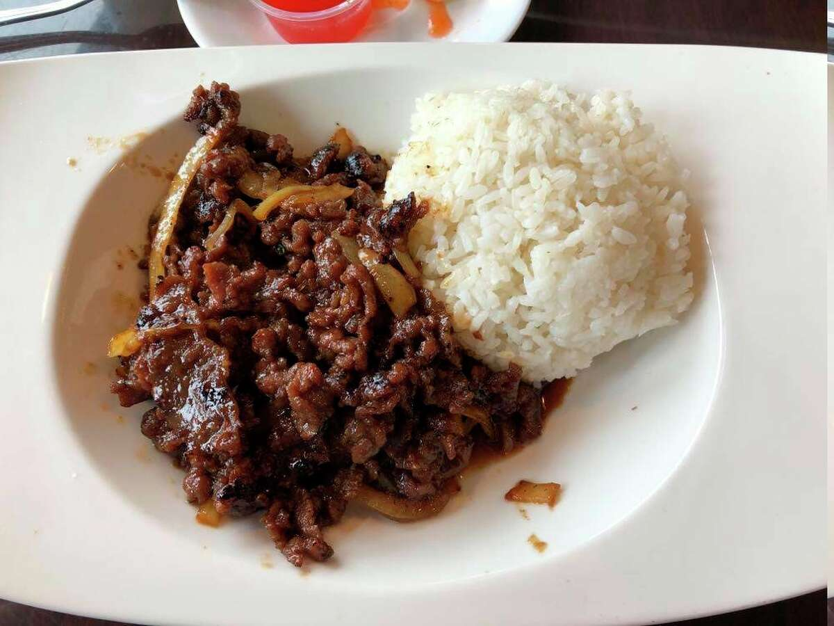 This week I decided to try bulgogi, also known as Korean barbeque, at Pi's Asian Express. (Victoria Ritter/vritter@mdn.net)