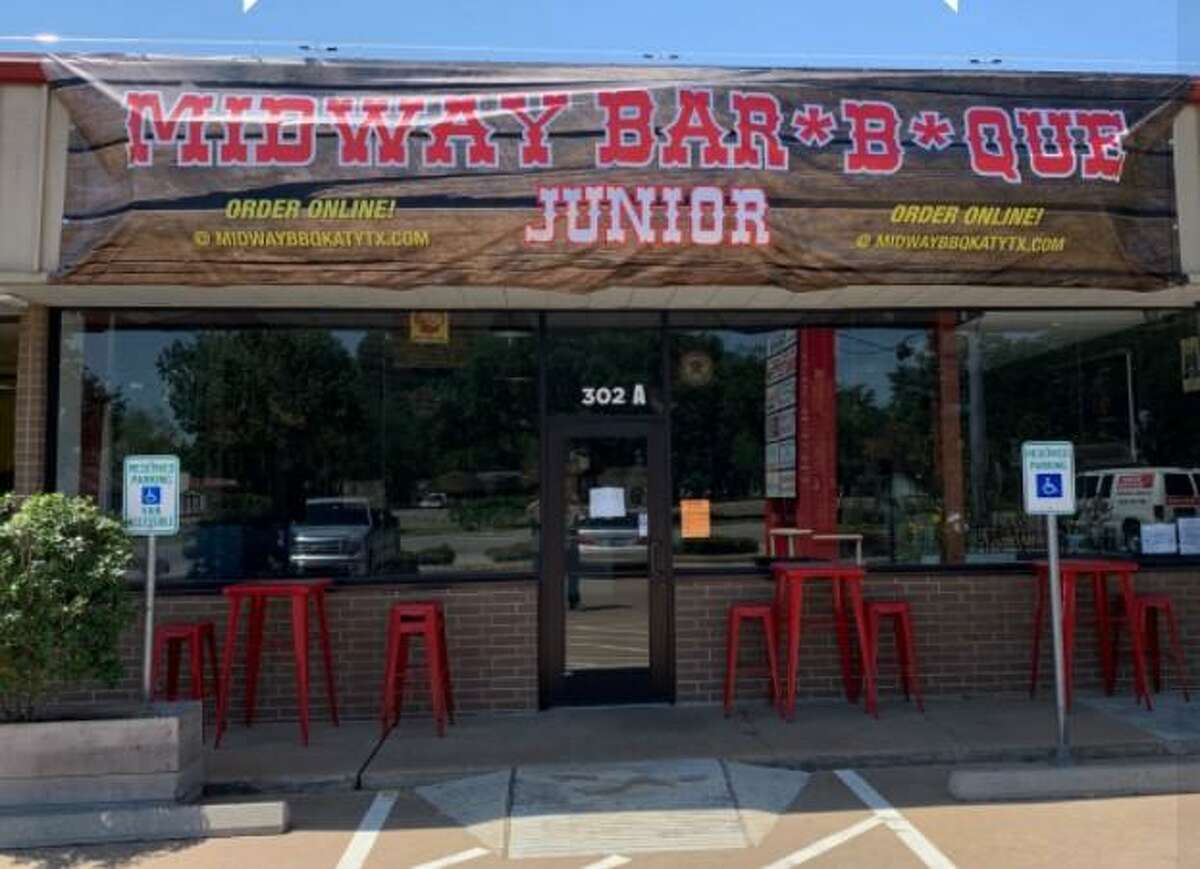 Midway BBQ has reopens as Midway BBQ Junior on Tuesday, May 4, 2021 in Katy.