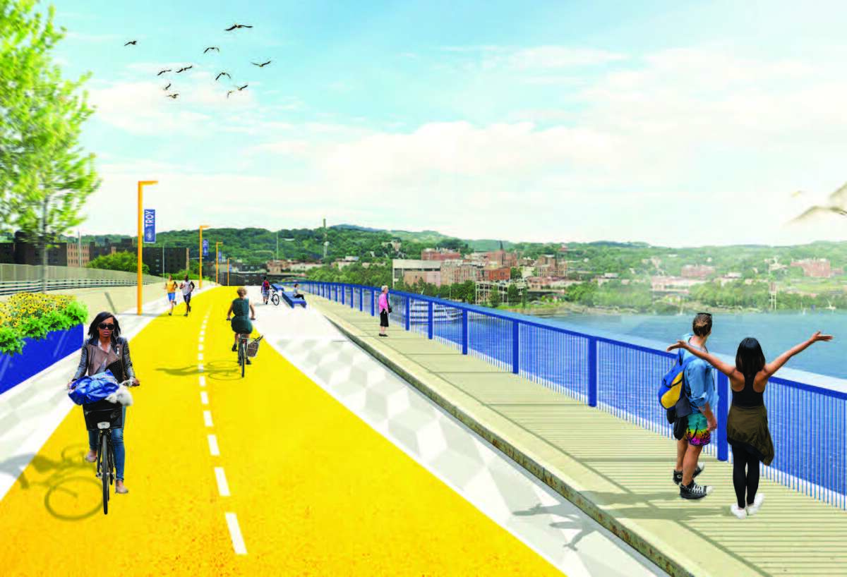 Congress Street bridge study renderings March 9, 2021.