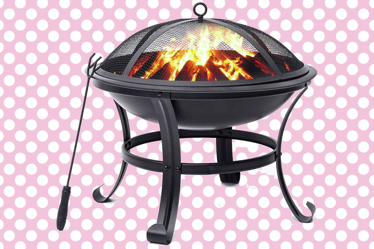 KINGSO fire pit for $49.99.