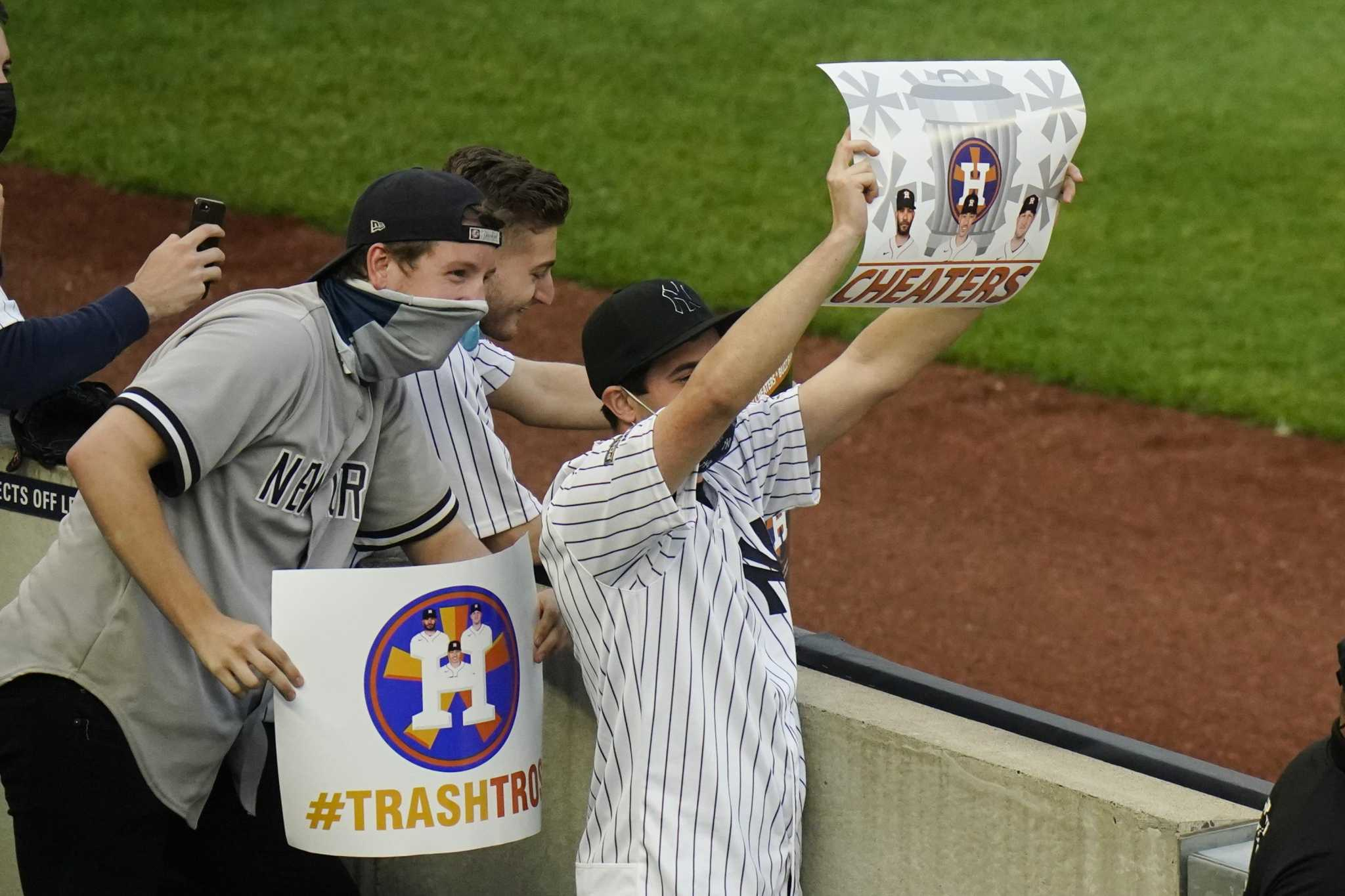 Smith: Astros' reception in New York is old boos
