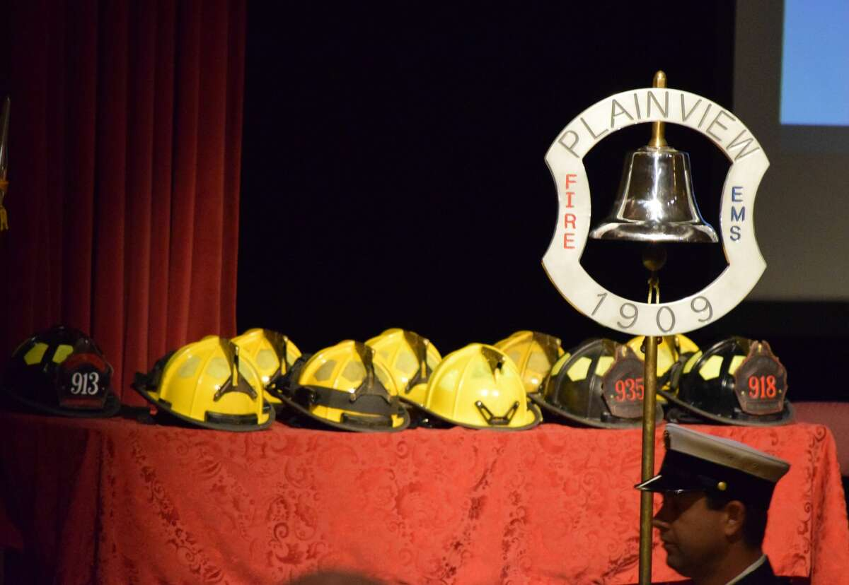 The Plainview Fire Department recognized a few of its own during a special promotions ceremony on Saturday at The Fair Theatre.