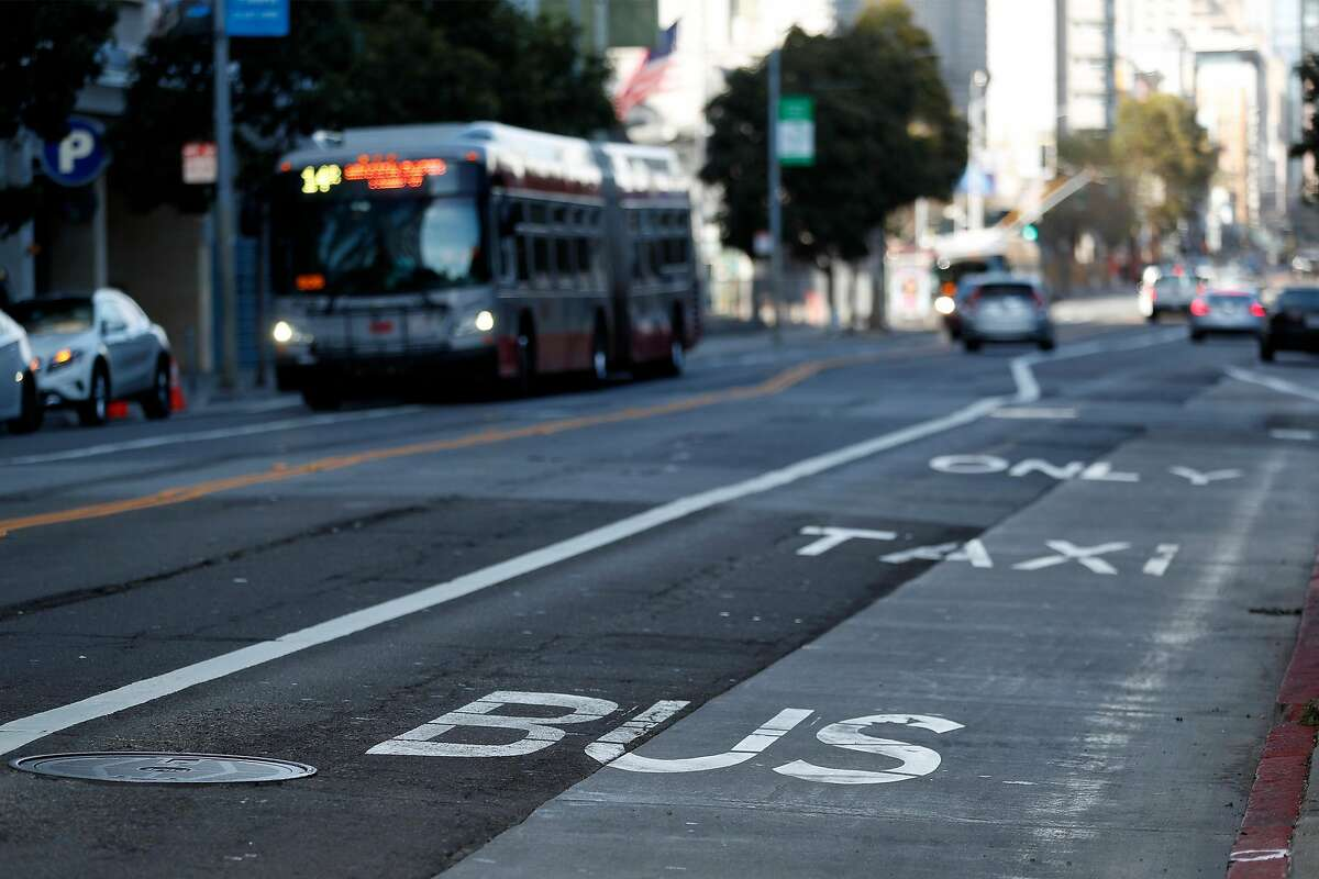 Muni is planning on making some transit-only lanes permanent.