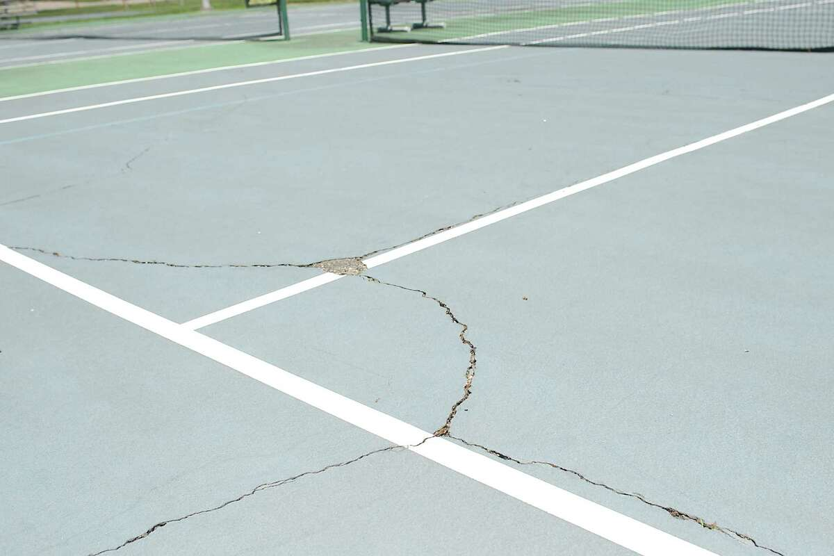 The work at the tennis courts will cost $99,900.