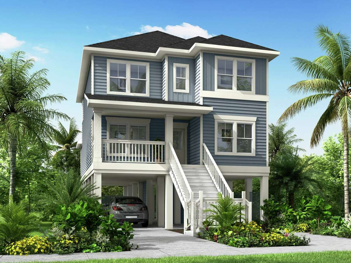 Gehan Homes plans to build flood proof homes on pilings in Old Seabrook Village, a waterfront community on Meyer Road in Seabrook. The land was purchased from OSV Development.