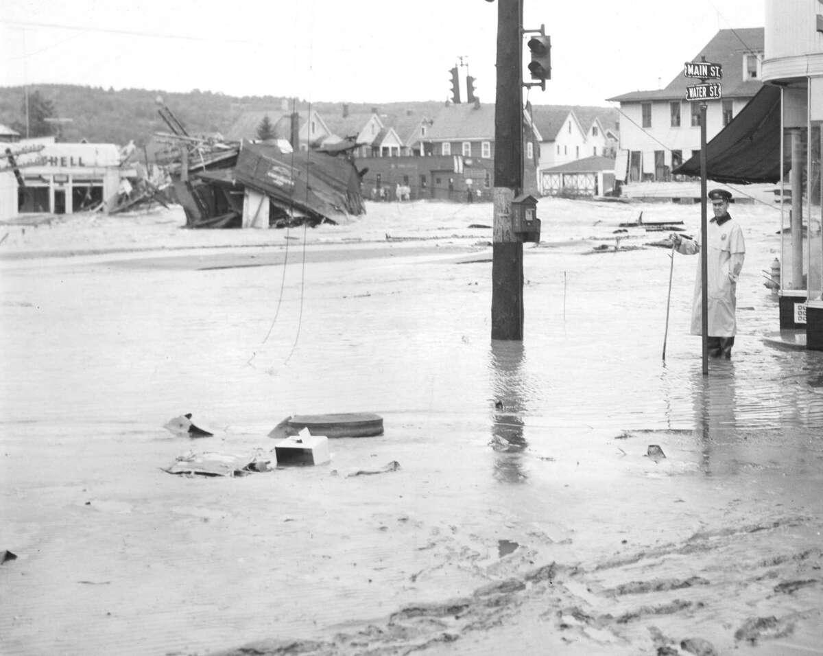 The Torrington Historical Society's next online program focuses on the Flood of 1955.