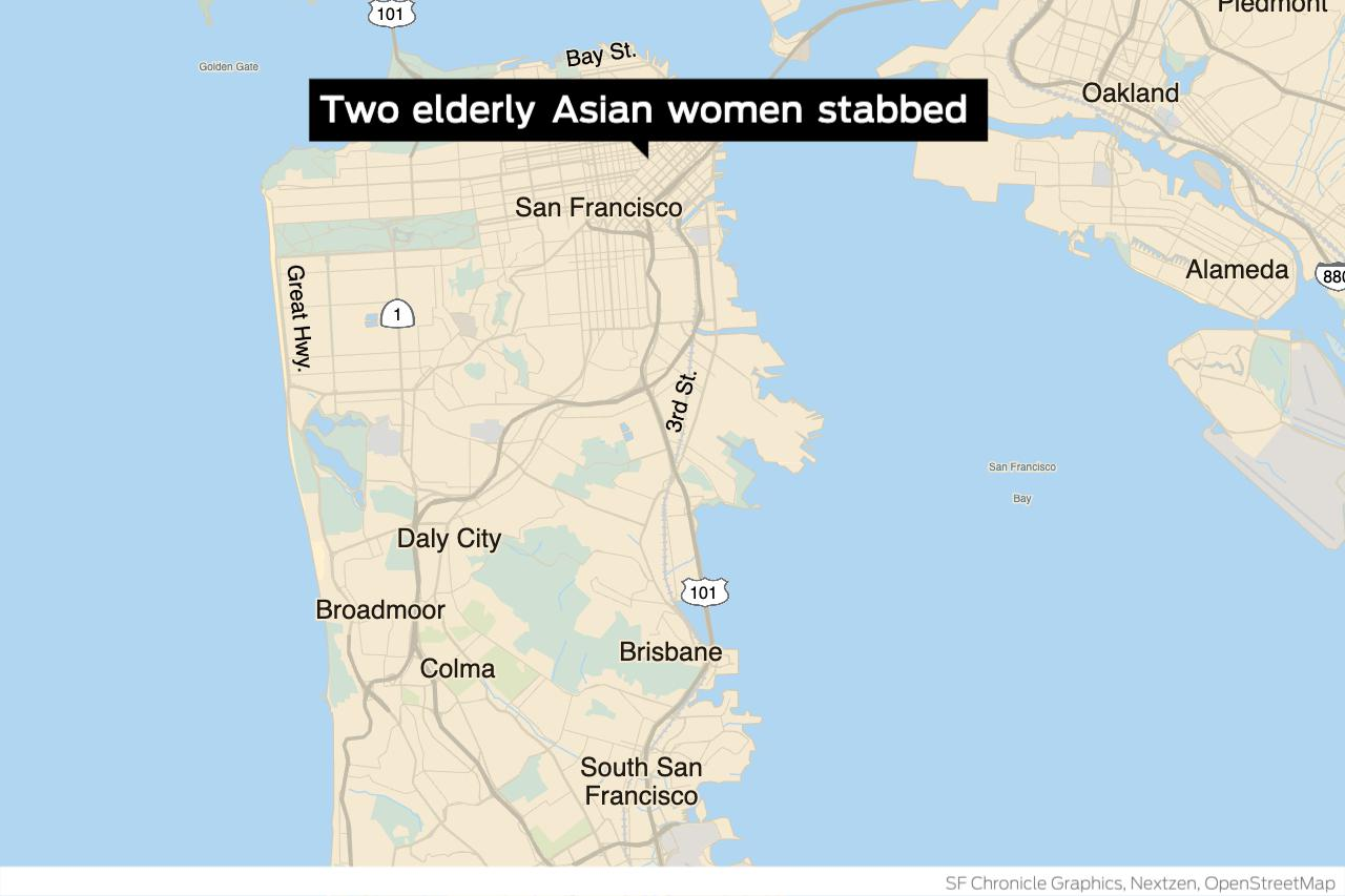 Suspect in S.F. stabbing of two Asian women faced assault charges in 2017