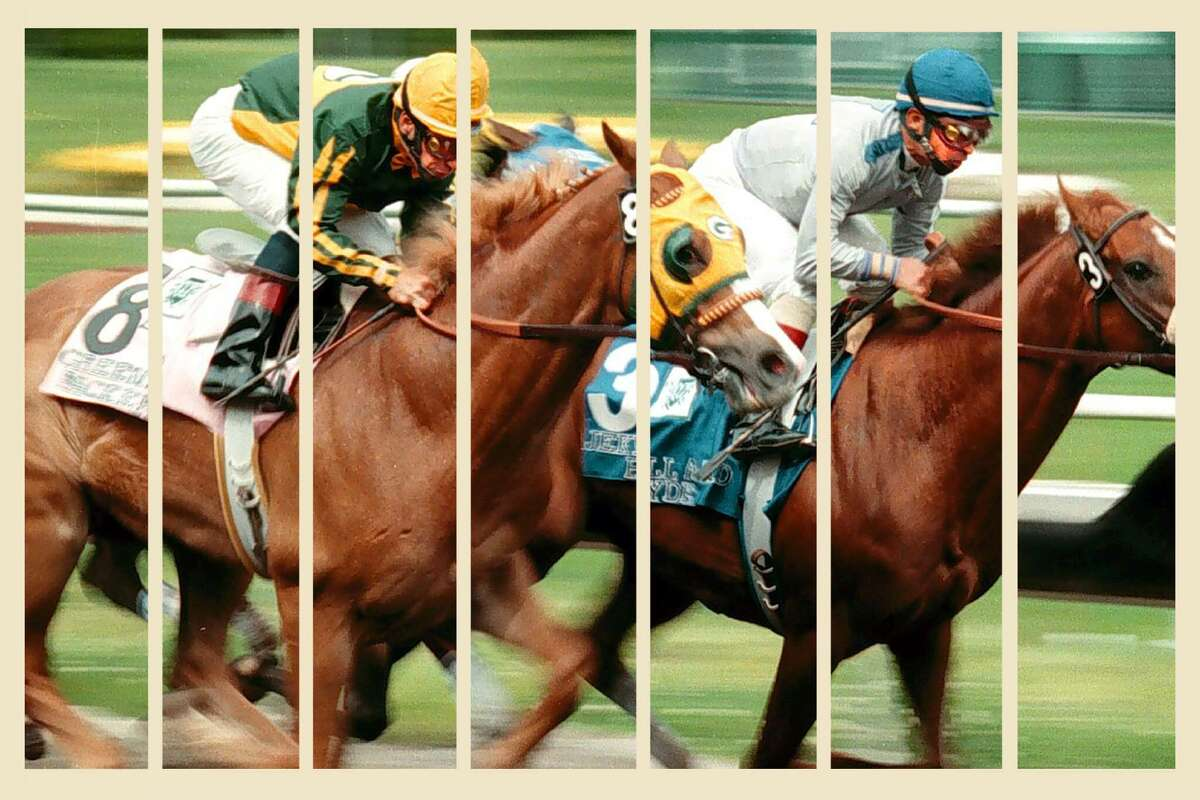 A photo from the 86th running of the California Derby at Golden Gate Fields.
