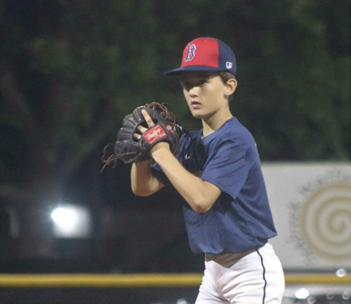 Jordan Foret turned in three innings of no-hit ball, while striking out five during the 8-3 win Wednesday night at Bayside Little League's complex.