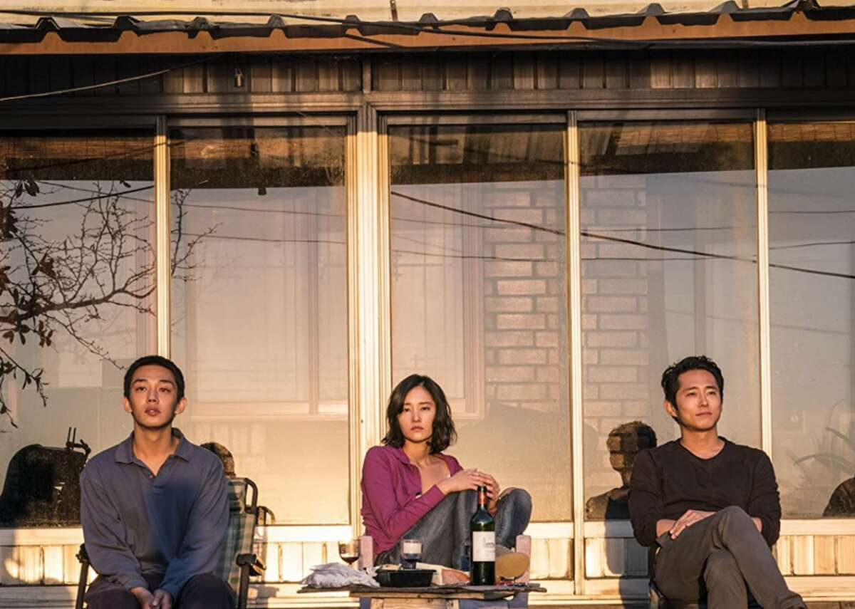 Burning (2018) - Where to watch: Hulu - Director: Lee Chang-dong - IMDb user rating: 7.5 - Metascore: 90 - Runtime: 148 minutes This South Korean psychological thriller is loosely based on the short story