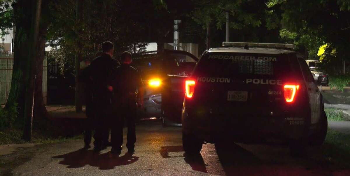Police investigating a suspected home invasion shooting on Wednesday night in east Houston.