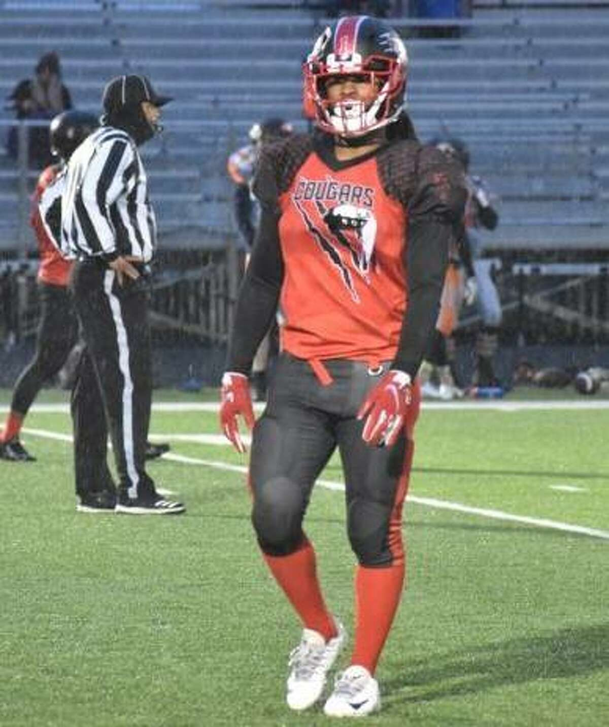 Ryan Hubbard of Alton is one of the area players on this season's Central Illinois Cougars semi-pro football team's roster. The Cougars will open their 2021 season at 7 p.m. Saturday at Gordon Moore Park against the Midwest Lions of St. Louis.