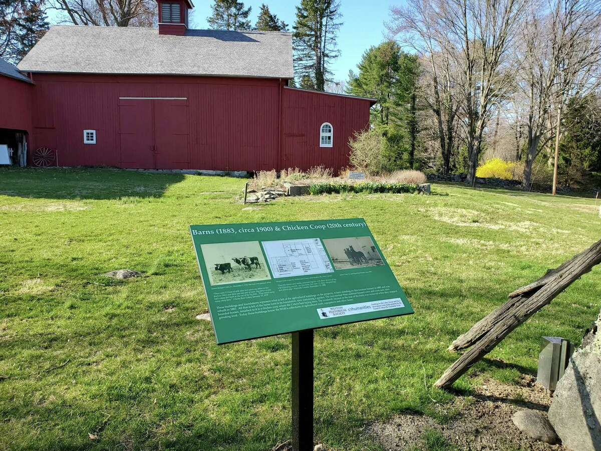 The Weston Historical Society is the recipient of a 2021 Award of Merit from the Connecticut League of History Organizations (CLHO) for the outdoor historic interpretive signage at the Coley Homestead, 104 Weston Road. The public can enjoy the grounds, and signage every day from dawn until dusk.