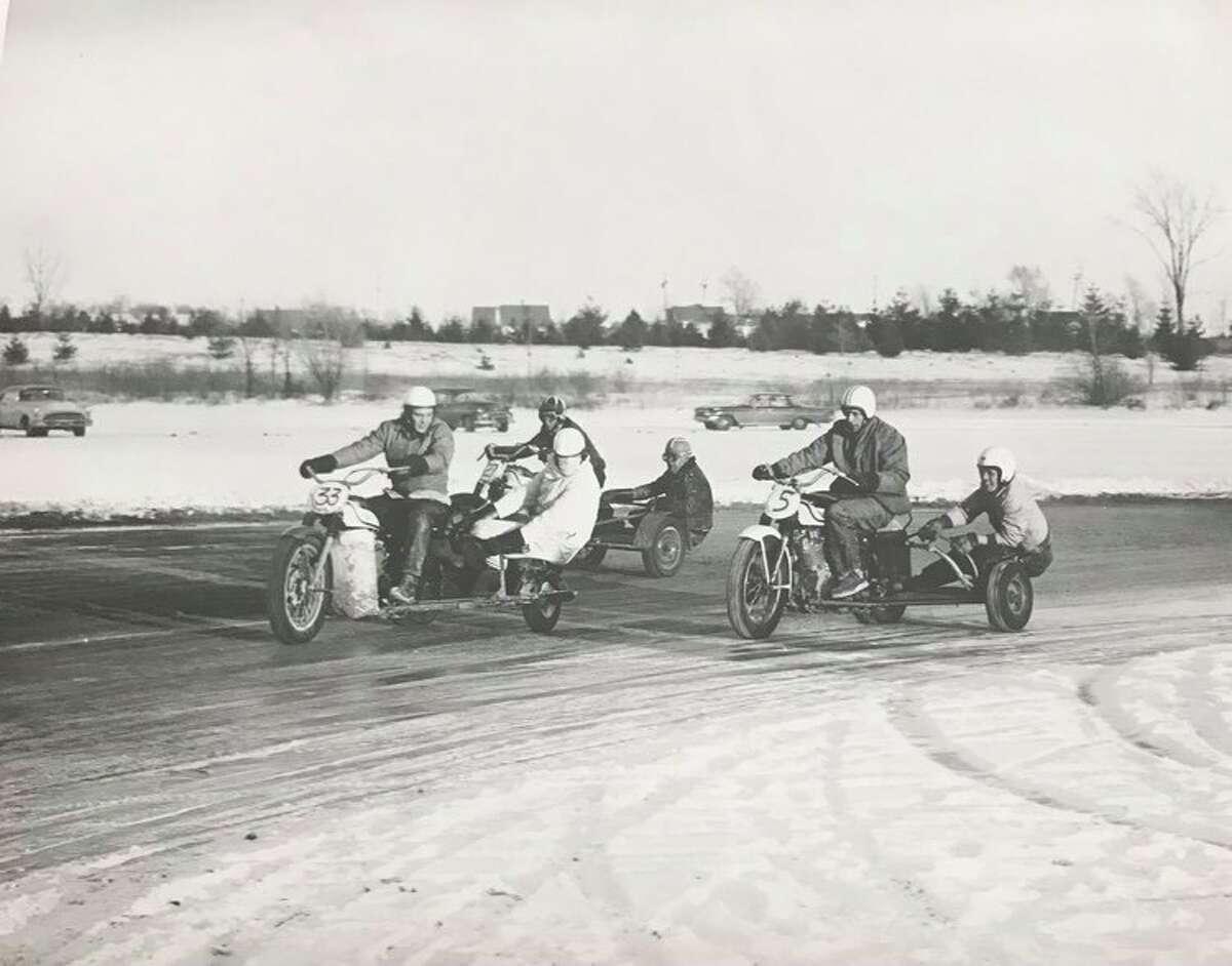 Midland Motorcycle Club. January 1961