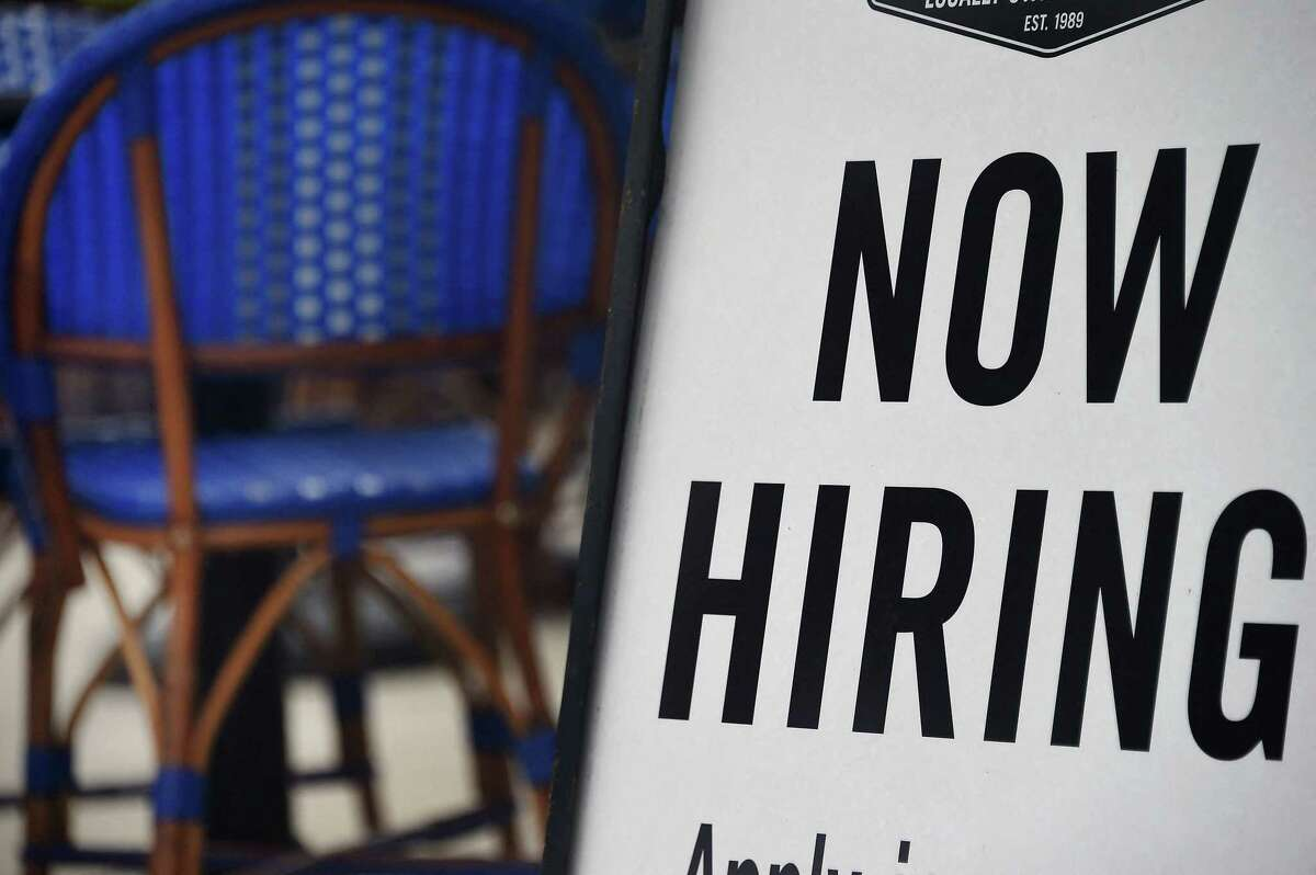 First-time claims for jobless benefits are falling in Texas and nationally.