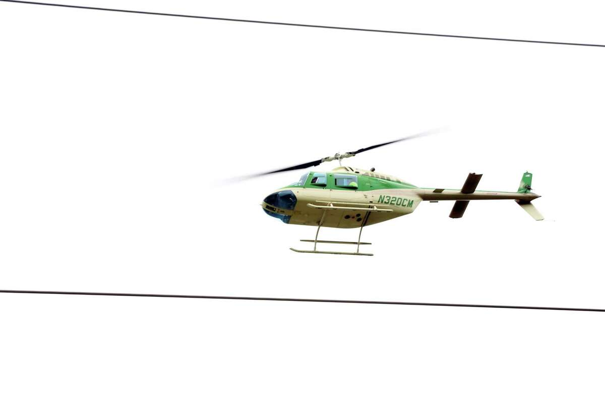 Helicopters will be inspecting the high voltage transmission towers in the Upper Thumb later this month. (ITC Holdings/Courtesy Photo)